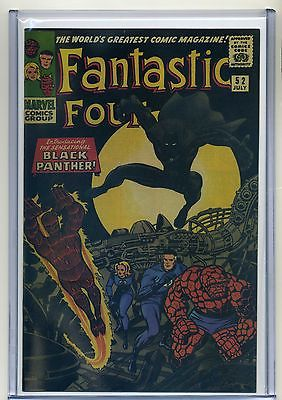 Fantastic Four #52 REPRINT 9.4 NM/9.6 NM+ CGC-like case 1st Black Panther MOVIE