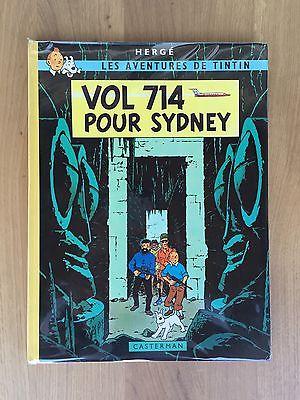 Hergé Tintin Tirage de Tête Vol 714 pour Sydney 154/250 Longue Dédicace d'Hergé.