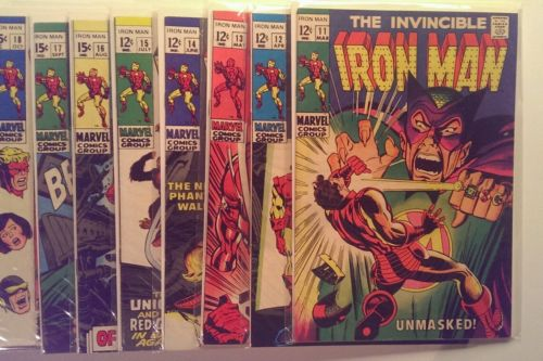 The Invincible Iron Man 11,12,13,14,15,16,17,18,19,20,21,22 NM