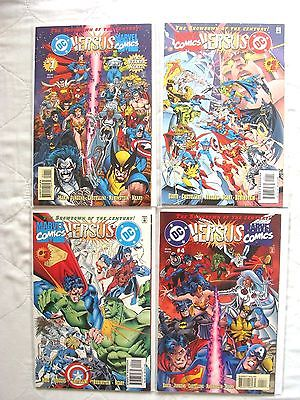 DC Versus Marvel / Marvel Versus DC 1 2 3 4 (Complete Run) LOT of 4 NM