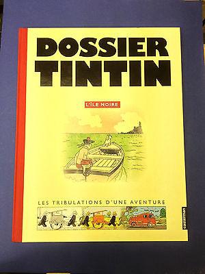 """Dossier Tintin """"L'île noire"""""""