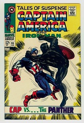 Tales of Suspense #98 NM/MT 9.8 OW/W pages Unrestored 1968 Marvel Black Panther