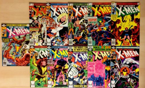 Uncanny X-Men #129 130 131 132 133 134 135 136 137 138 139 DARK PHOENIX SET VF