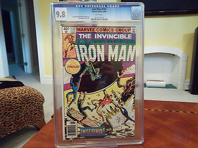 Iron Man #137  CGC 9.8  WP