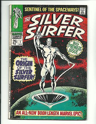 Silver Surfer 1 5.0 VG/F F- 5.5 GREAT BOOK Fantastic Four CGC Avengers HOT 4 3 2