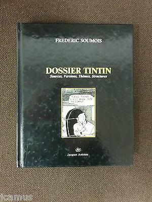 Tintin - Dossier Tintin - Frédéric Soumois - 1987 - ETAT NEUF