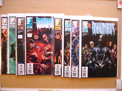 8 1998 Marvel Knights comics INHUMANS # 1,2,4,5,7,8,9,11 Fantastic Four VF9.0+
