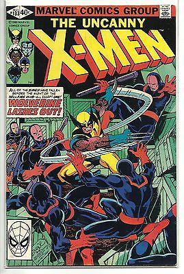 Uncanny X-Men 133 VF-VF/NM Marvel Comics WOLVERINE 1st App Senator Robert Kelly