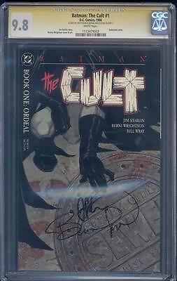Batman: The Cult #1 CGC SS Bernie Wrightson and Jim Starlin