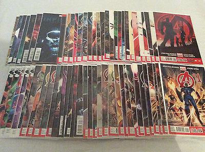 Avengers - Hickman Complete Run / Avengers 1-34 / New Avengers 1-23 / Infinity