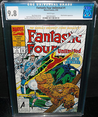 FANTASTIC FOUR UNLIMITED #1 CGC 9.8 NM/MT BLACK PANTHER, HIGHEST GRADE