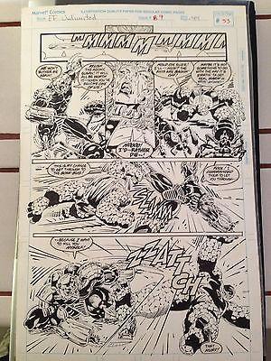 Original comic art Fantastic Four Unlimited #9 pg 44
