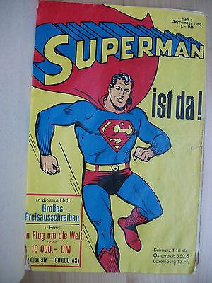 Superman, Heft 1, 2 , 3 und 4 von 1966, Sammelband, Ehapa Original, Supermann