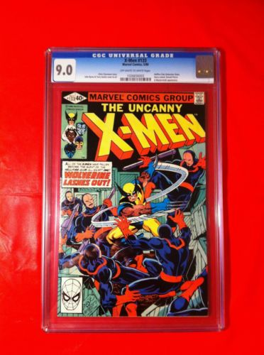 The Uncanny X-men #133 CGC 9.0 NM Off White / White Pages 1980 Hellfire Marvel