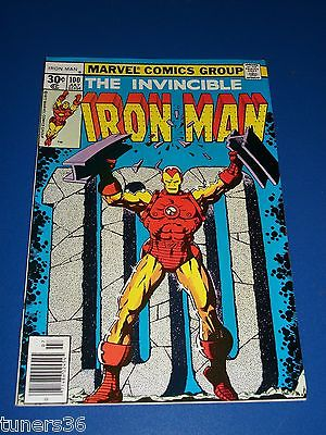 Iron Man #100 Bronze Age Gorgeous VF/NM Gem Mandarin
