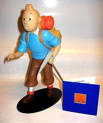 TIM & STRUPPI in Tibet (Alpinist) Bergsteiger Moulinsart Figur Tintin 23cm Herge