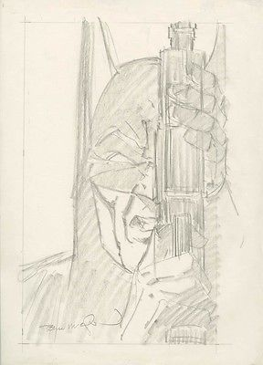 BATMAN THE CULT 4 ORIGINAL COVER ART BERNIE WRIGHTSON 1 SUPERMAN JUSTICE LEAGUE