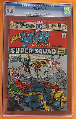ALL-STAR COMICS #58 Return of JSA 1st POWER GIRL DC 1976 Wally Wood CGC NM+