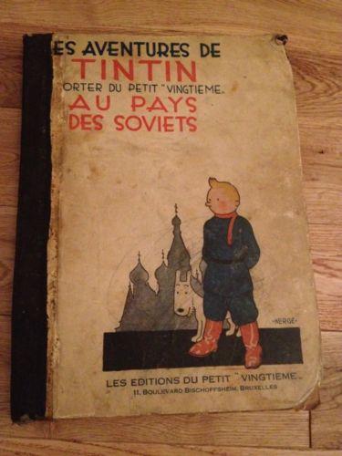 Mythique Tintin au pays des Soviets EO 1930 NB Herge Petit Vingtieme