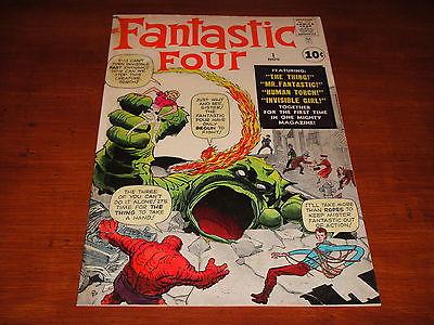 Fantastic Four #1 Vol 1 High Grade Original 1961 1st App of the Fantastic Four