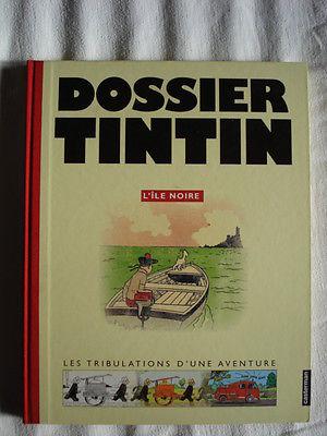 Tim und Struppi, Tintin, Hergé, Dossier Tintin - L'Île Noire, ÜF