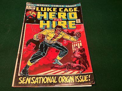 MARVEL COMICS LUKE CAGE, HERO FOR HIRE  #1 JUNE ISSUE  - N.R.
