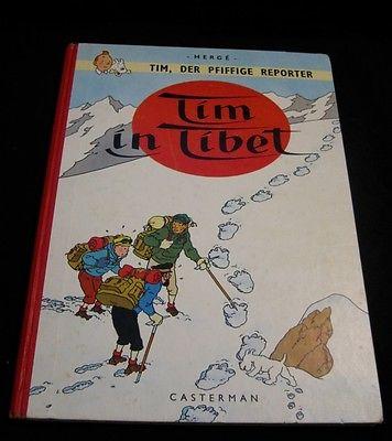 @ Tim der Reporter der pfifige Reporter in Tibet 1. Auflage Tintin Tim Struppi