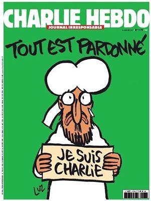 Real Physical Paper Charlie Hebdo Magazine 14/01/2015 N° 1178 Newspaper