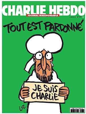 Charlie Hebdo  tout est pardonné Dedicace by Ric 1178 January 14, 2015