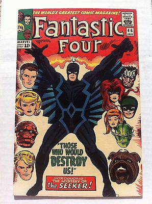 Fantastic four 46- Black Bolt full first app - 7.0 condition