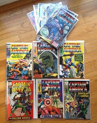 Captain America LOT 118-130 (13 books) High Grade  WOW