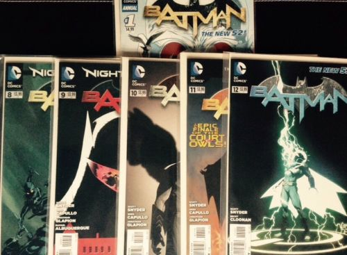 Batman 8 9 10 11 12 and Annual 1 New 52 Snyder 1st Print Night of the Owls