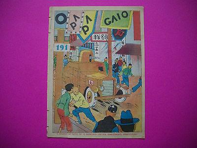 Tintin - Le Lotus Bleu - O Papagaio #191 - 1938