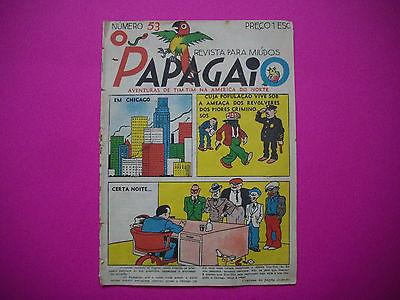 Tintin - Tintin en Amerique - O Papagaio #53 - 1936