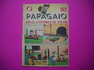 Tintin - Le Lotus Bleu - O Papagaio #182 - 1938