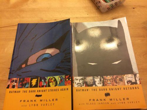 The Dark Knight Returns Strikes Again Tpb Lot Batman Dc Miller Graphic Novel