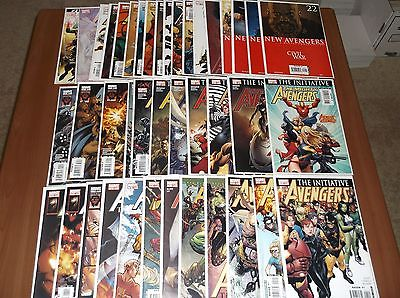 AVENGERS Initiative #1-12, Mighty Avengers 1-11, New Avengers #22-37 (Lot of 41)