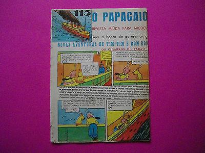 Tintin - Les Cigares du Pharaon - O Papagaio #115 - 1937