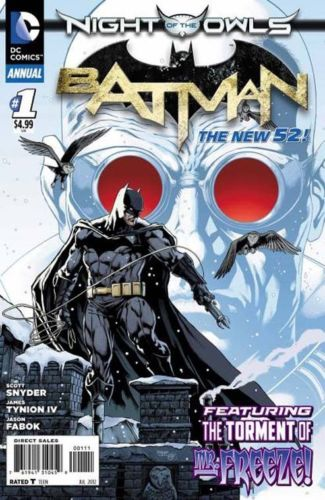 BATMAN ANNUAL #1 (NIGHT OF THE OWLS) DC NEW 52