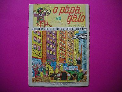 Tintin - Tintin en Amerique - O Papagaio #110- 1937