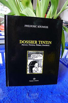 DOSSIER TINTIN  de Frédéric SOUMOIS Ed. Jacques Antoine (Bruxelles) 1987 - RARE