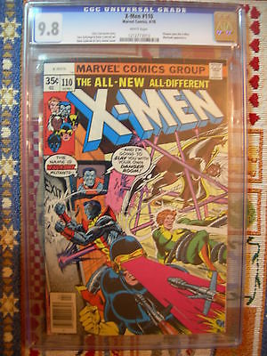 Uncanny X-Men #110 CGC 9.8 NM/M Phoenix joins x-men Highest Grade White