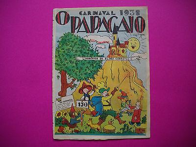 Tintin - Les Cigares du Pharaon - O Papagaio #150- 1938