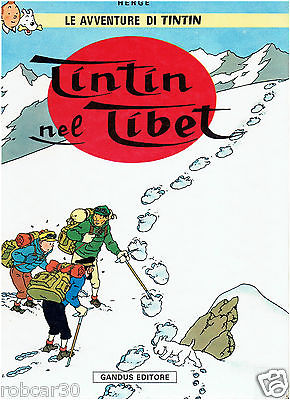 SCHLUMPF PITUFO COMIC ''TINTIN IN TIBET'' in  ITALIAN 3
