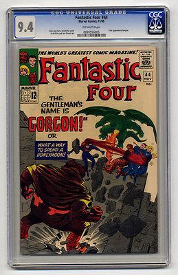 Fantastic Four 44 CGC 9.4 NM First GORGON (Inhumans) Medusa App