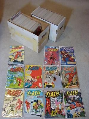 HUGE Lot (242 Issues) of THE FLASH #138-#347 (1st) #1-184 (2nd) + More