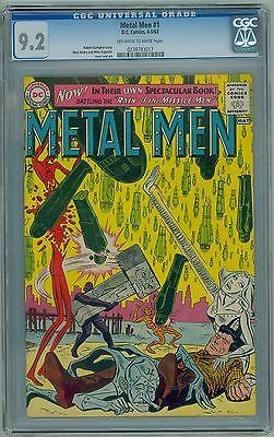 Metal Men #1 (1963) CGC 9.2 NM- HIGH GRADE Silver Age Key Esposito Cover & Art