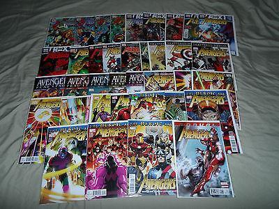 Avengers 1-34 + New Avengers 1-34 + Secret Avengers 1-37 -ALL COMPLETE- **NM**