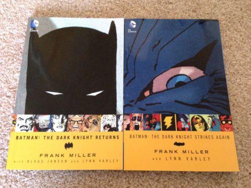 DC Batman The Dark Knight Returns AND Dark Knight Strikes Back TPB Set