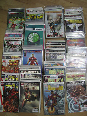 Great Collection of IRON MAN Lot (122) Full-Runs & Groups, Modern Age Books